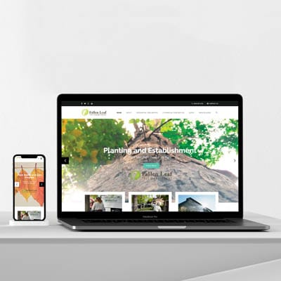 Falen Leaf Tree Management Responsive Web Site Development
